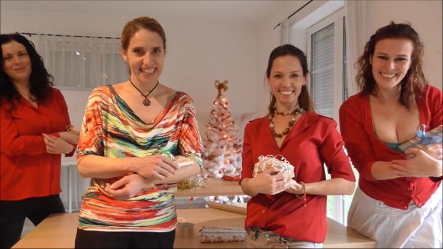 Příprava na vánoční večírek aneb dárek pro šéfa :-o