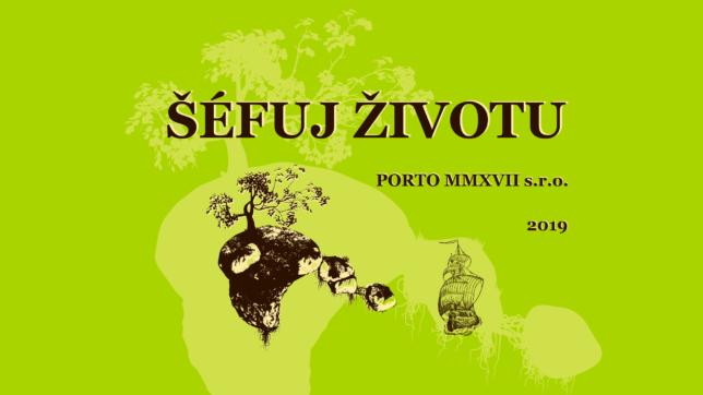 3. kniha Šéfuj životu 2019 jde na Startovač!